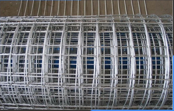 Construction Galvanized Welded Wire Mesh Panels 13 14 15 16 17 18 20 21 Gauge